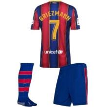 Детская домашняя футбольная форма Гризманн 2020-2021