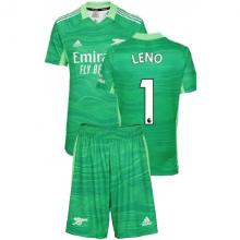 Вратарская зеленая футбольная форма Бернд Лено 2021-2022