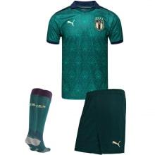 Третий комплект детской формы Италии ЕВРО 2020-21