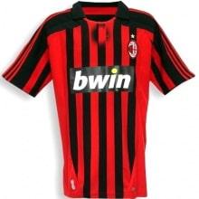 Домашняя ретро футболка Милан 2007-2008