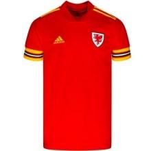 Домашняя футболка сборной Уэльса на Чемпионат Европы 2020