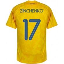 Домашняя футболка Украины Зинченко на ЕВРО 2020-21