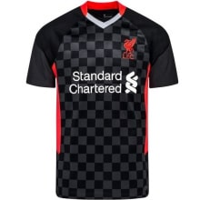 Комплект детской третьей формы Ливерпуля 2020-2021 футболка