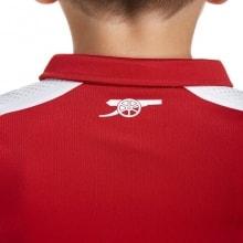 Детская домашняя футболка Арсенала 2017-2018 сзади