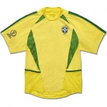 Домашняя ретро футболка сборной Бразилии 2002