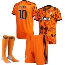 Детская третья футбольная форма Дибала 2020-2021