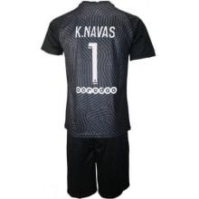 Вратарская черная футбольная форма Кейлор Навас 2020-2021