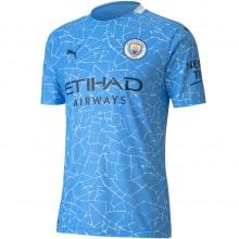 Детская домашняя форма Манчестер Сити 2020-2021 футболка
