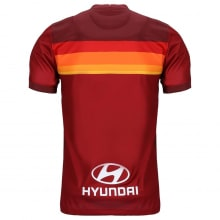 Домашняя игровая футболка Ромы 2020-2021 сзади