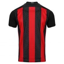 Домашняя игровая футболка Милан 2020-2021 сзади