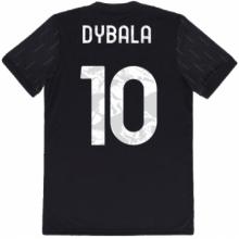 Гостевая игровая футболка форма Дибала 2021-2022