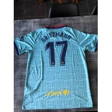 Третья футболка Барселоны 2019-2020 Антуан Гризманн сзади