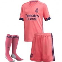 Взрослый комплект гостевой формы Реал Мадрид 2020-2021 футболка шорты и гетры