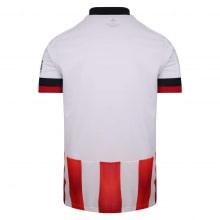 Домашняя игровая футболка Шеффилд Юнайтед 2020-2021 сзади