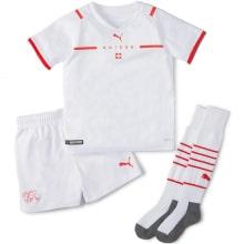Детская гостевая форма Швейцарии на ЕВРО 2020-21