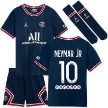 Детская домашняя футбольная форма Неймар 2021-2022