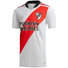 Домашняя игровая футболка Ривер Плейт 2021-2022