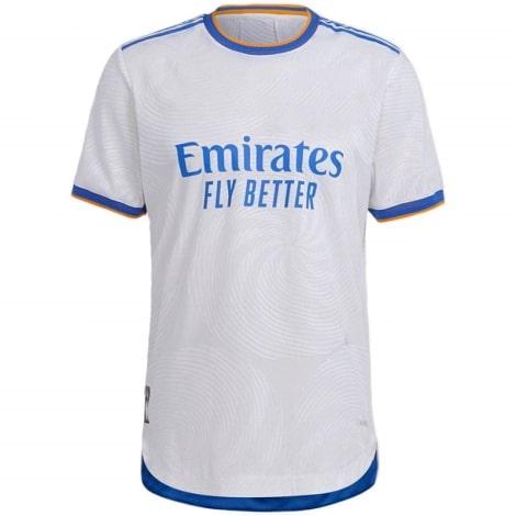 Домашняя аутентичная футболка Реал Мадрид 2021-2022