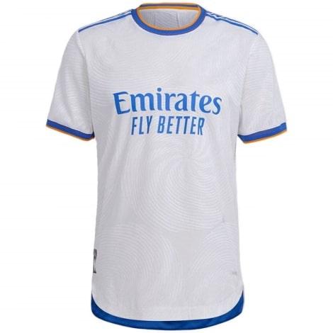 Детский комплект домашней формы Реал Мадрид 2021-2022 футболка Серхио Рамос