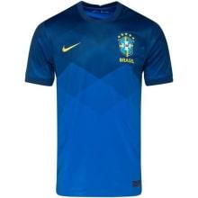 Гостевая игровая футболка сборной Бразилии 2020-2021