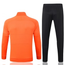 Черно оранжевый костюм сборной Голландии 2020-2021 сзади