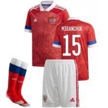 Детская домашняя форма России Миранчук на ЕВРО 2020-21