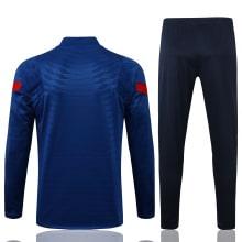 Синий костюм Атлетико Мадрид 2021-2022 сзади