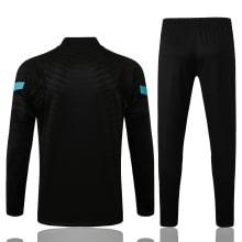 Черно-голубой костюм Интера 2021-2022 сзади