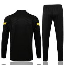 Черный тренировочный костюм Челси 2021-2022 сзади