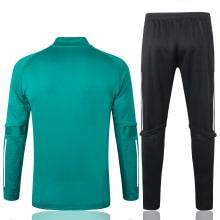 Зеленый спортивный костюм Фейеноорда 2021-2022 сзади