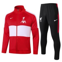 Красно-черный костюм Ливерпуля 2021-2022