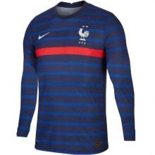 Домашняя футболка Франции ЕВРО 20-21 длинные рукава