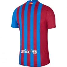 Домашняя аутентичная футболка Барселоны 2021-2022 сзади