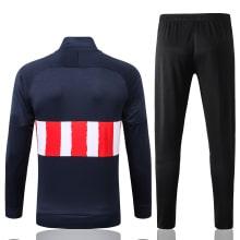 Черно-сине-красный костюм Атлетико Мадрид 2021-2022 сзади