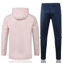 Сине-розовый костюм Ювентуса по футболу 2021-2022 сзади