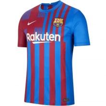 Домашняя футболка Барселоны 2021-2022 Пуйоль