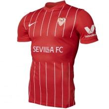 Гостевая игровая футболка Севилья 2021-2022