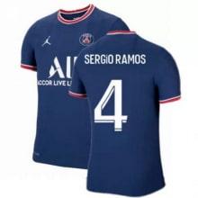 Домашняя футболка ПСЖ 2021-2022 Серхио Рамос