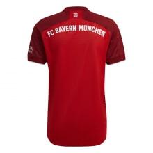 Домашняя аутентичная футболка Баварии 2021-2022 сзади