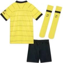 Комплект детской гостевой формы Челси 2021-2022 сзади