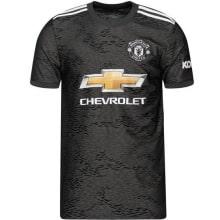 Комплект детской гостевой формы Ман Юнайтед 20-21 футболка
