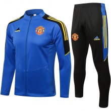 Черно-синий костюм Манчестер Юнайтед 2021-2022