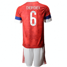 Детская домашняя форма России Черышева на ЕВРО 2020