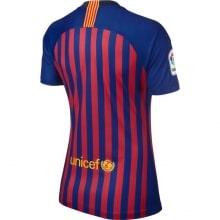 Женская домашняя футболка Барселоны 2018-2019 сзади