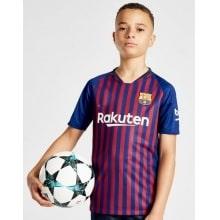 Детская домашняя футбольная форма Барселоны 2018-2019 года