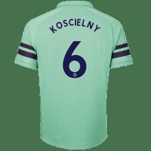 Третья футболка Арсенала Лоран Косельни 2018-2019