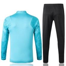 Черно-голубой костюм сборной Бразилии 2021-2022 сзади