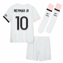 Детская гостевая футбольная форма Неймар 2021-2022
