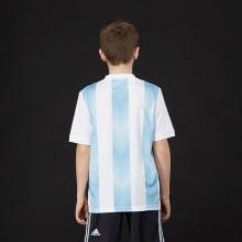 Комплект детской футбольной формы Аргентины на ЧМ 2018 сзади