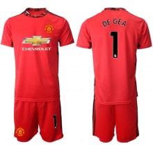 Вратарская красная форма Манчестер Юнайтед 20-21